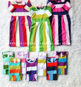 Dress Anak Flower Kids
